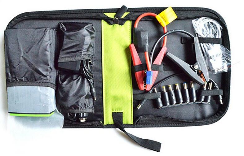 Многофункциональный стартер 30000 мАч аккумулятор Car аварийного питания авто перейти начинающих зарядное устройство ноутбука зарядное устройство