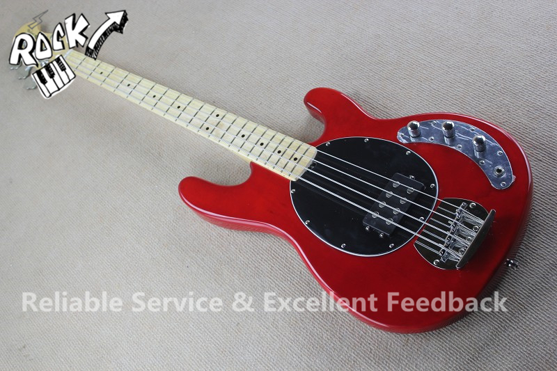 Good Cheap Price China 4 String Bass Guitar Music man StingRay Maple Fretboard & Left Handed Available(China (Mainland))