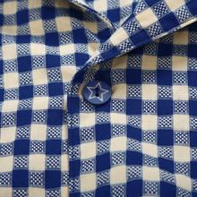 Clearance song Riel fashion men s plaid short sleeved cotton pajamas suits and elegant comfort Pyjamas
