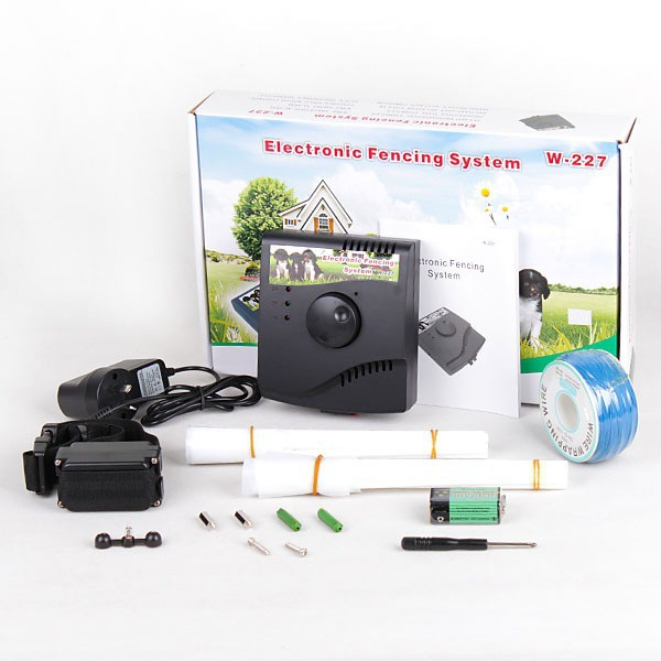 Underground wireless electric dog fencing system pet dog for Top rated underground dog fence