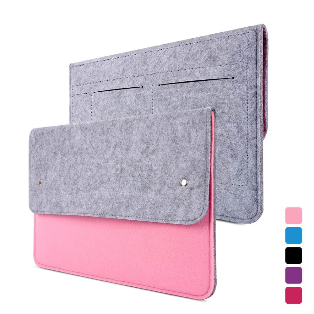 YESSBON wool felt Protective laptop bag notebook bag ...
