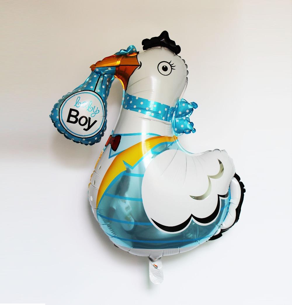 50pcs/lot Baby Shower Air Balloons Birthday Party Decoration Foil Balloon Baby Girl &amp; Boy Happy Birthday wedding decor globos<br><br>Aliexpress