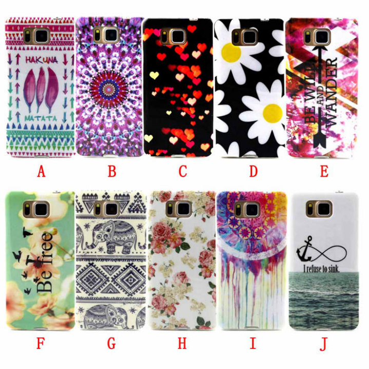 Amazing Fashion Design Soft TPU Back Case Cover Skin For Samsung Galaxy Alpha Alfa SM-G850(China (Mainland))