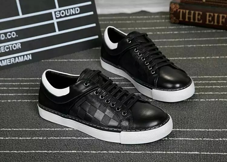 hot sale! 2016 new men casual Shoes genuine leather shoes Luxury mens brand shoes size 38-45<br><br>Aliexpress