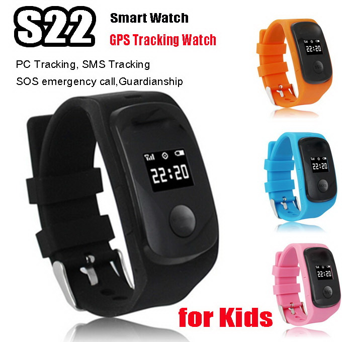 ZGPAX S22 Kids GSM GPS LBS location GPRS track Monitoring Security Smart Watch support SIM For Children smartphone sos enfants<br><br>Aliexpress
