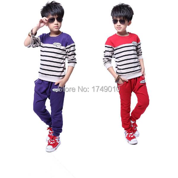 2015spring autumn  fashion brand children sports suit long sleeve  boys clothing set  kids clothes coat winter Sweatshirt<br><br>Aliexpress