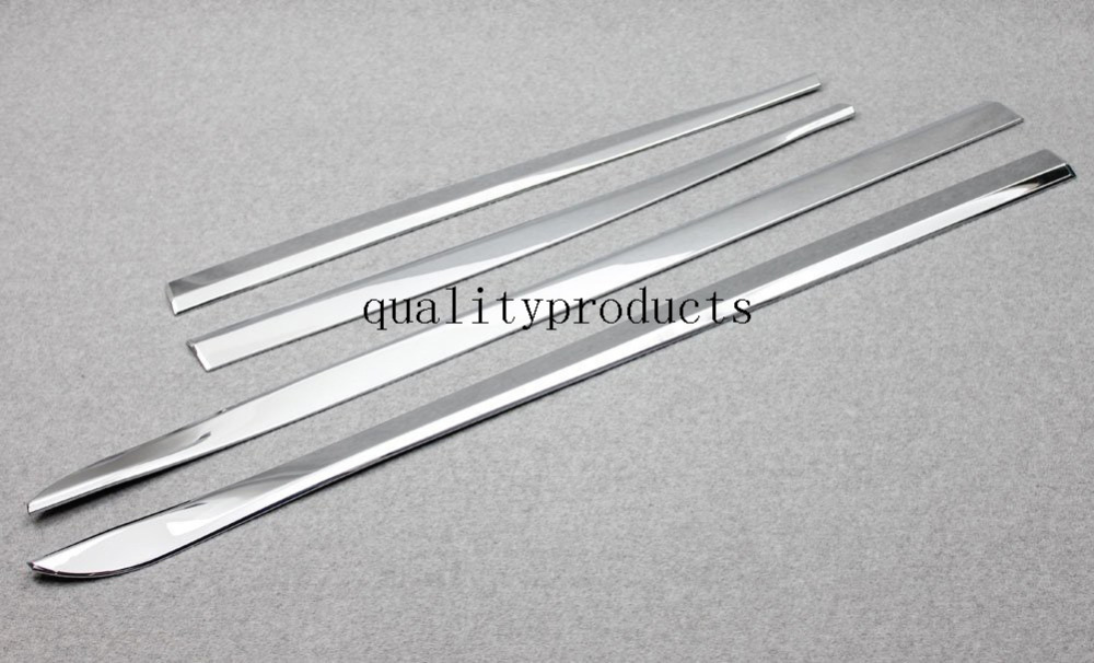 ABS Chrome Side Door Molding Protector Cover Trim For Jeep Cherokee 2014 2015<br><br>Aliexpress