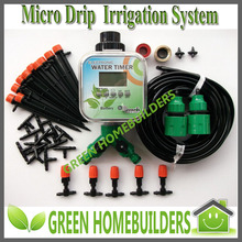 SOLAR Power Plant Micro Drip Irrigation System with RainStop Function(China (Mainland))