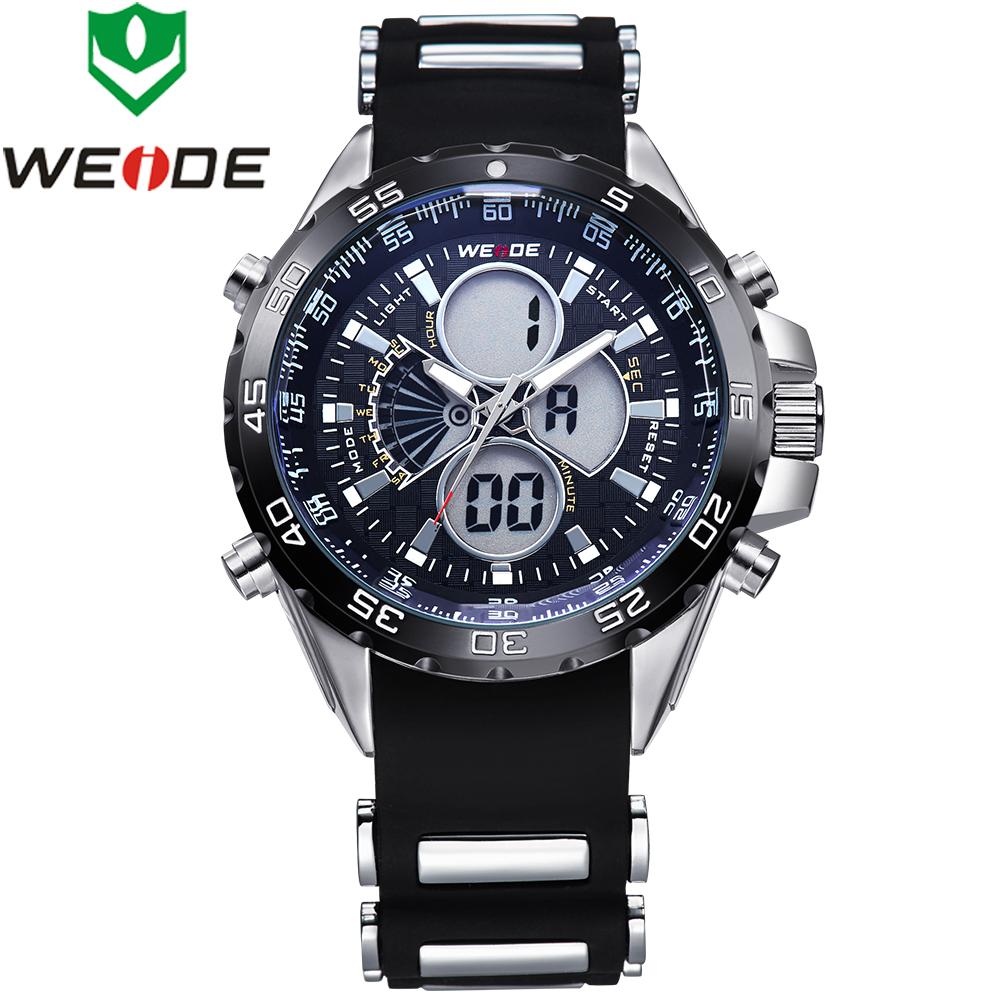 Гаджет  WEIDE Watches Men Quartz Full Steel Army Diver Men