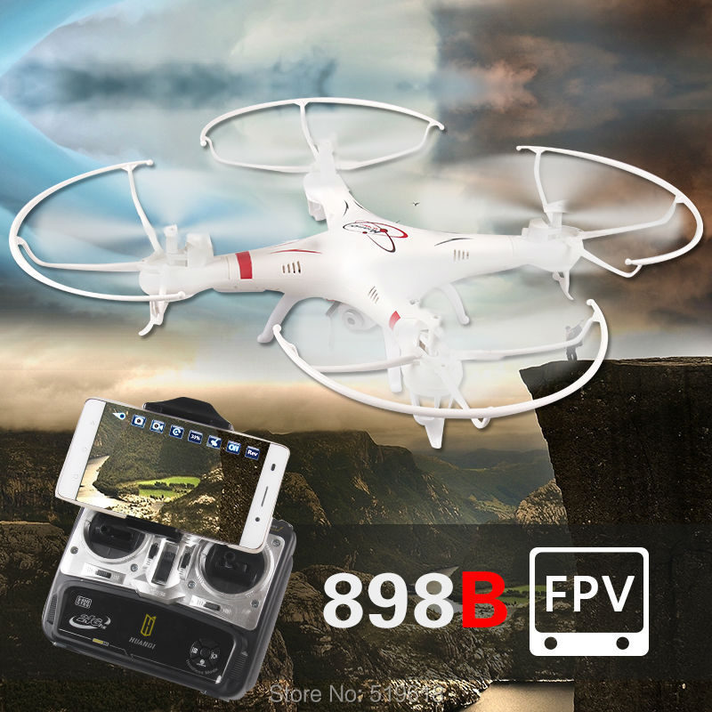HQ898B 2.4G 4CH 6-Axis RC Quadcopter Drone With Wifi FPV HD Camera Smartphone Gravity Induction Control HQ 898B kvadrokopter<br><br>Aliexpress