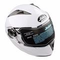 Oversea Flip Up Front Modular Motorcycle Motorbike Scooter Crash Helmet Double Visor 4 color for choose