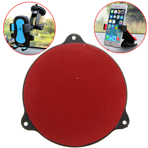 New Arrival Simple Universal Mount Car Cradle Holder GPS Adhesive Dash Board Suction Disc Disk Sticky Pad removal by hand(China (Mainland))