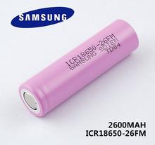 1 New Original 18650 ICR18650-26F 2600mAh Li-ion 3.7v Battery - goods battery marketing center store