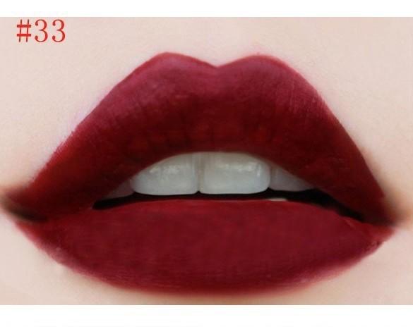 2016 Liquid Lipstick Hot Sale Lasting Elegant Multi Colors Smooth Beauty Makeup lipstick Sexy Sweet girl Lip lipstick D13