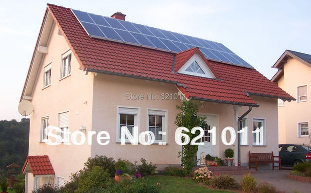 3KW home solar power system, solar generaror include solar panel, battery, inverter and other parts