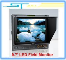 2014 New Lilliput 9 7 LED Field Monitor with HDMI YPbPr Audio Input Dual HDMI input