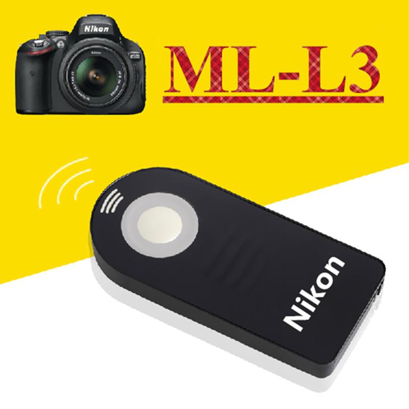 ML-L3 MLL3 IR Wireless Shutter Release Remote Control for Nikon D7000 D5100 D5000 D3000 D90 D70 D60 D40 D40x Digital SLR Cameras(China (Mainland))