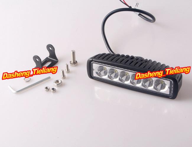 4PCS 18W LED Work Light Bar Off Road Lights Fog Driving Lamp Flood Beam 25degree For Truck SUV Boat 4X4 4WD ATV UTE(China (Mainland))