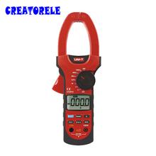 UT207A 3 3/4 Digital Auto Range Clamp Multimeters 1000A 1000V Meter UNI-T Ammeter Voltmeter LCD Backlight - Creatorele Store store