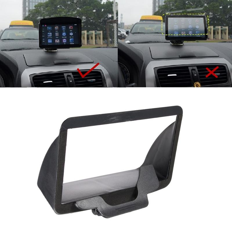 Universal 7 inch Portable Anti Glare Screen Sun Shield Visor Hood For 7 inch Car GPS Navigation GPS Accessories(China (Mainland))