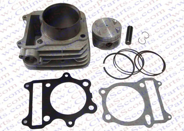 78mm Cylinder Piston Ring Gasket Kit 300CC GN300 Loncin Dirt Bike Pit Bike ATV Quad Parts