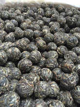 China Yunnan Menghai Dragon Ball Puer Green Raw Tea 8 10g per pcs by ZHONG YUAN