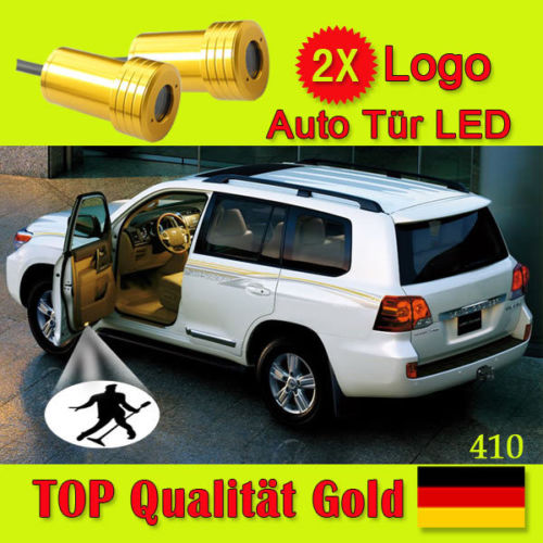 2x car logo Ghost Shadow Projector Door welcome Lamp LED light for R3 Race Rally Research JP VIP 339 GARSON 337 BULLITT(China (Mainland))