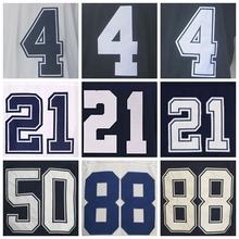Men's 4 DAK 21 EZEKIEL 82 Jason 93 benson 88 dez Blue White Thanksgiving elite Jerseys(China (Mainland))