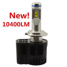 Canbus 10400Lm P6 LumiLEDs LED Car Headlight Fog Light Conversion Kit H4 H7 H11 9005 9006 H13 Repl. Halogen HID Xenon Bulb Lamp(China (Mainland))