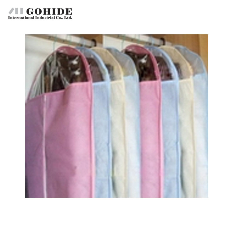 Gohide High Quality Non-Woven Suit Dust Cover Medium Size 60x108cm Dust Bag Dust Cover Garment Storage Bag Home Accessories(China (Mainland))