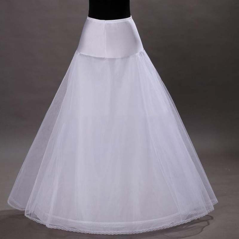 2016 new arrives 100 high quality a line tulle wedding for Tulle petticoat for wedding dress