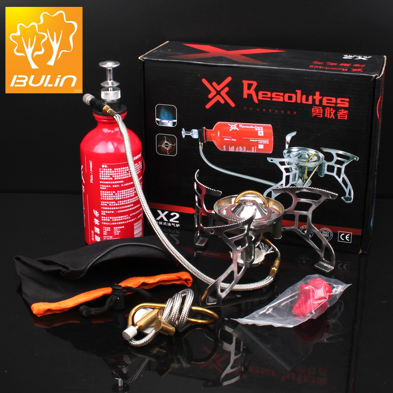 New Arrival Camping Stove Camping Split-type gas stove Bulin X2(China (Mainland))