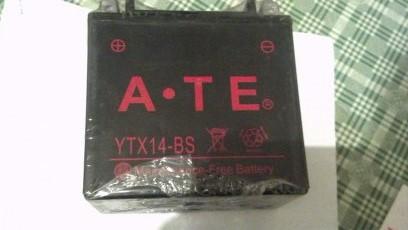 Original ATV accessories 25035 250F2505 original ATE 14A battery<br><br>Aliexpress