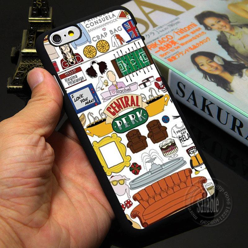 Customized Phone Case Friend TV Show Central Perk Twin Coffee Break Case for Apple iPhone 7 4 4s 5 5s SE 5c 6 6s plus