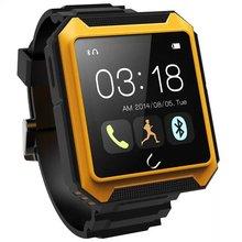 Uwatch Uterra спорт водонепроницаемый Scratchproof Smartwatch для IPhone ISO и android-автомобильный робот-с-компас bluetooth-смарт подключен часы