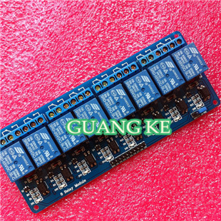 ! optocoupler 8 channel 8-channel relay module control panel PLC 5V - GUANGKE ELECTRONICS CO.,LIMITED store