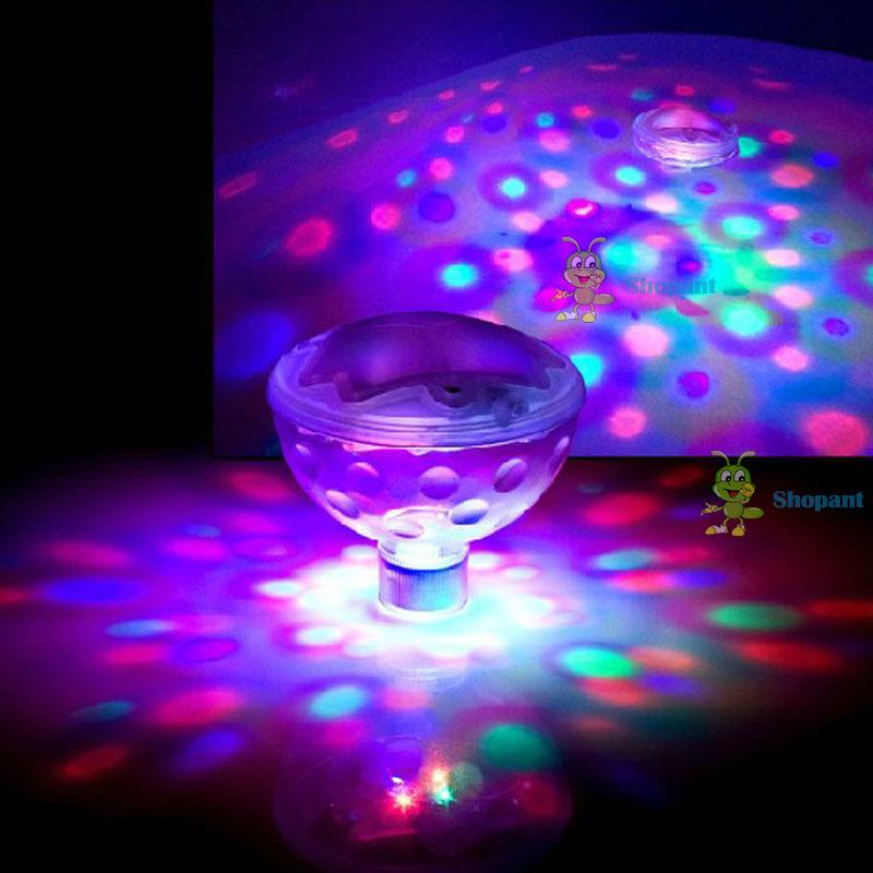 bestChoise Helpful! Hot 5 Patterns Disco Aqua Underwater Glow Show Pond Cool LED Spa Tub Pool Light Personalized!(China (Mainland))