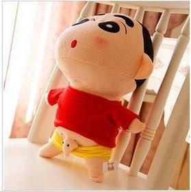super cute cartoon plush toy soft doll crayon small new plush toys 35cm size 13042756(China (Mainland))