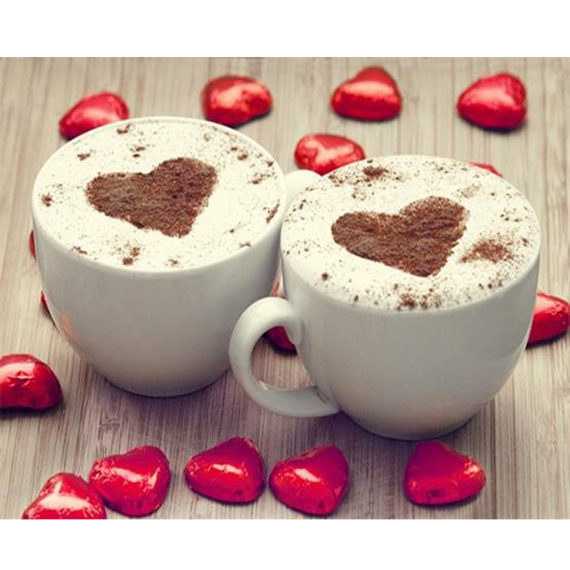 اللي بحب القهوة بالحليب يتفضل 3d-diamond-embroider
