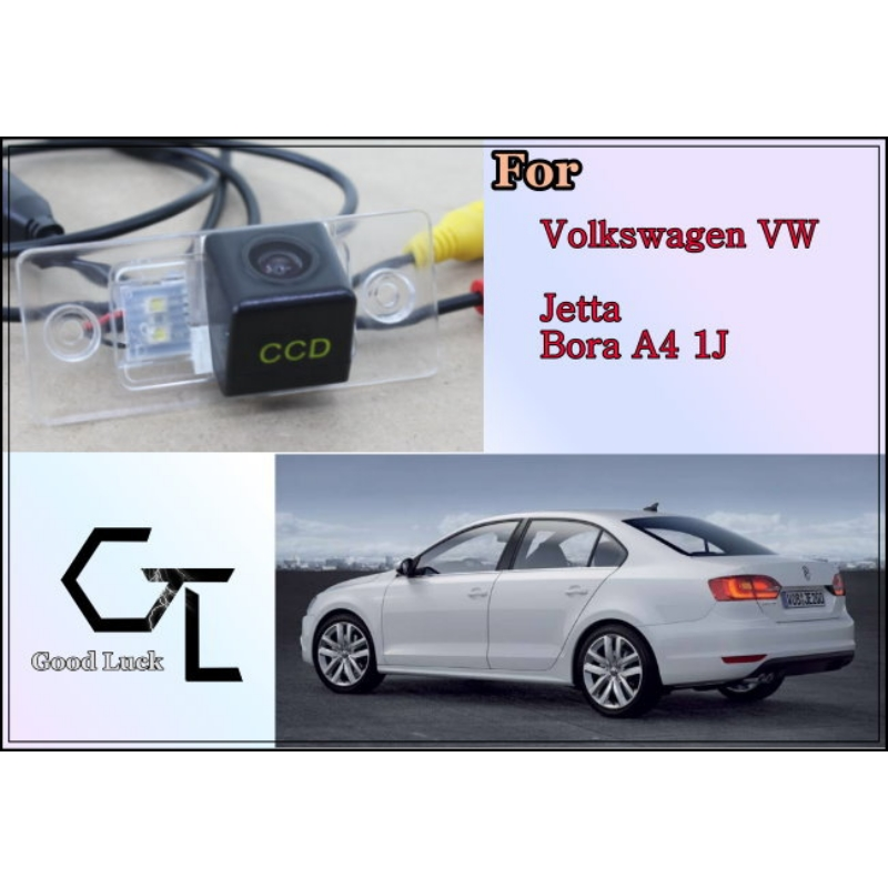 For Volkswagen VW Jetta Bora A4 1999 ~ 2006 wireless Car Reverse Backup CCD HD Night Vision Parking Assistance Rear View Camera(China (Mainland))