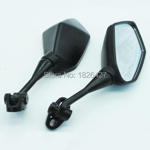 Black Motorcycles Mirror For 1999-2006 Honda CBR 600 F4 F4i / RC51 / RVT 1000 DD250E/DD300/350 CBR600 F4 99-00 CBR600 F4I 01-02(China (Mainland))