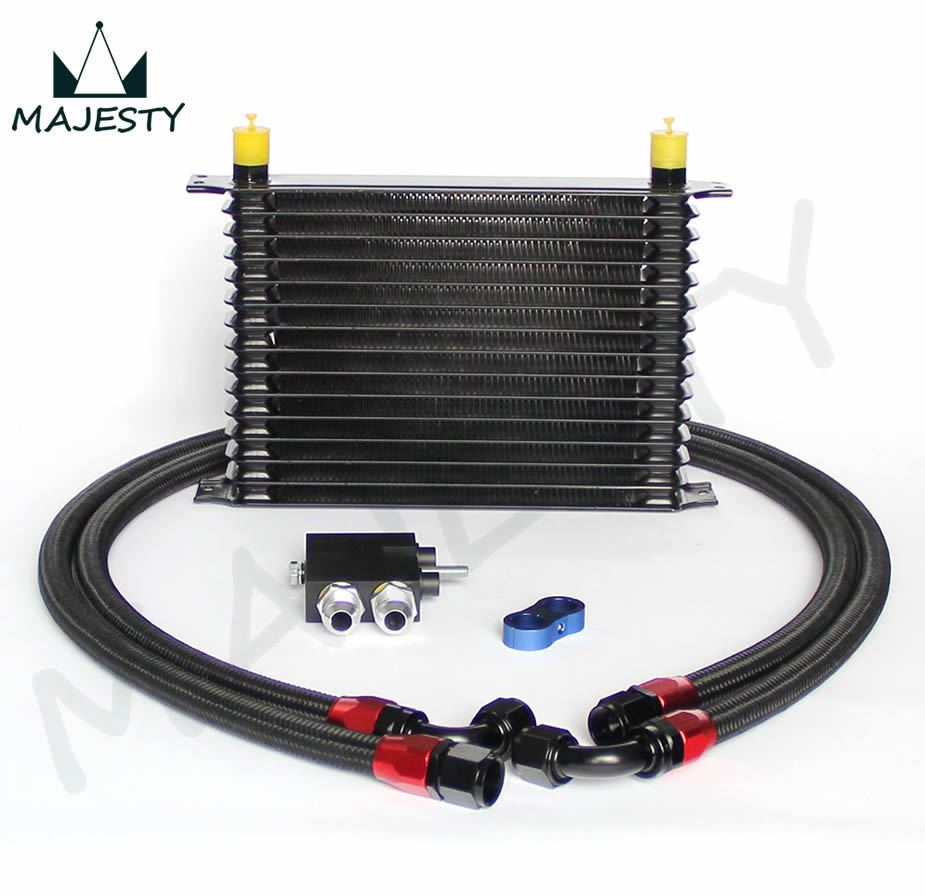 Bmw S85 Twin Turbo Kit: 15 ROW Oil Cooler Kit For BMW N54 Engine Twin Turbo 135i