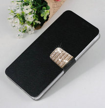 Buy Newest 5 Colors Luxury Elegant PU Leather Mobile Phone Cases Cover Sony Xperia M2 Dual D2302 D2305 Free for $2.79 in AliExpress store