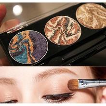 3 цвета смешивания планеты минеральная запеченный палитра теней eye shadow 2016 последней моды для женщин косметика(China (Mainland))
