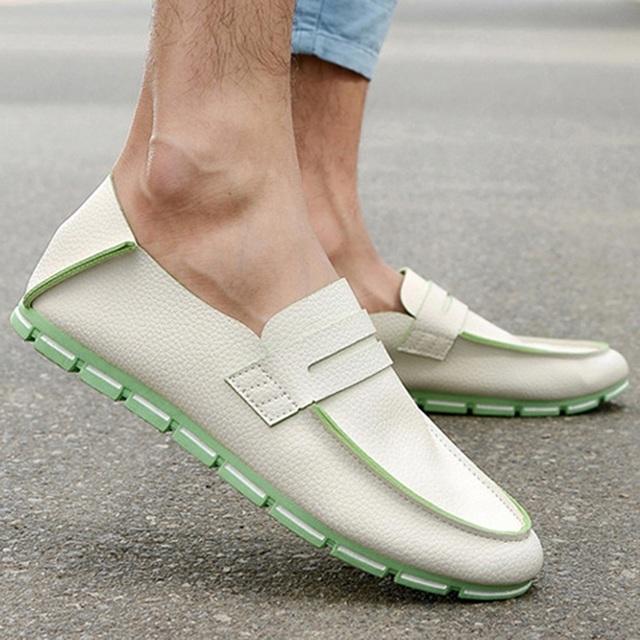 Большая Акция!! Новые Мужские Мокасины Обувь Искусственной Кожи Сплошной Цвет Обуви ...
