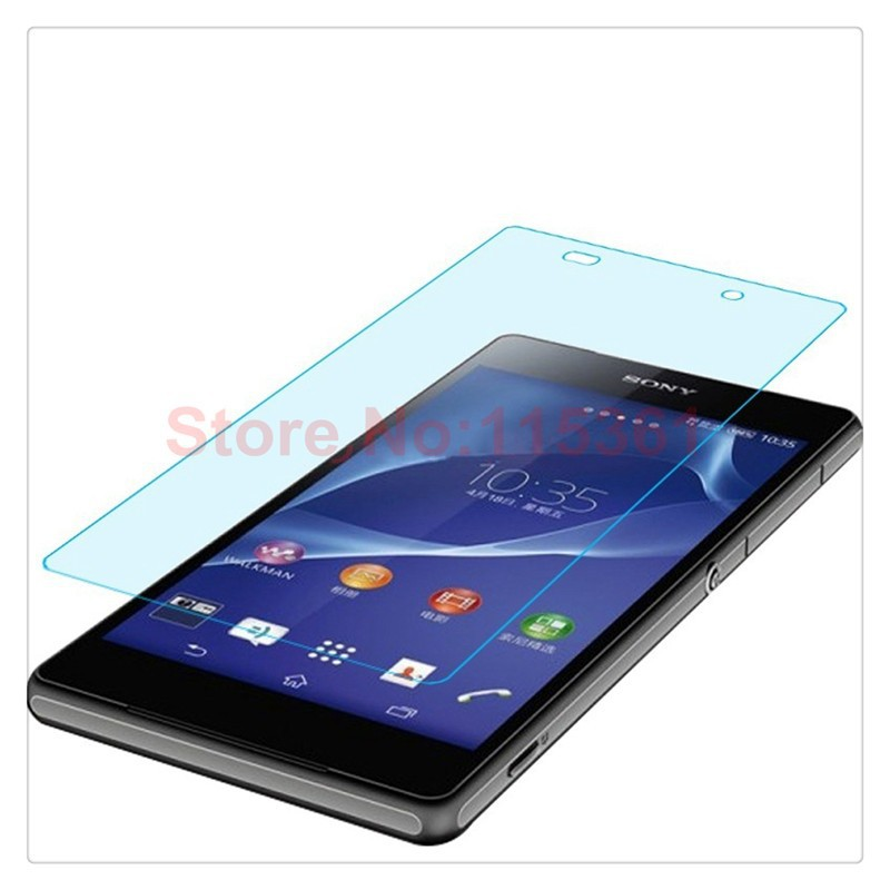 0.26MM 2.5D scratch  resistance Premium Explosion-proof Tempered Glass Screen Protector Cover Guard Film for SONY xperia Z2