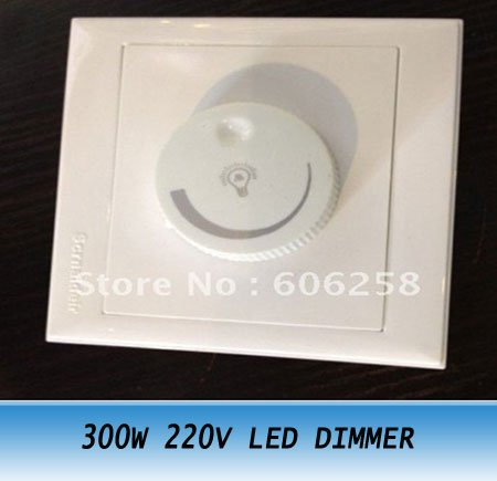 300w led light dimmer switch 220v led bulbs dimmer switch 5pcs. Black Bedroom Furniture Sets. Home Design Ideas