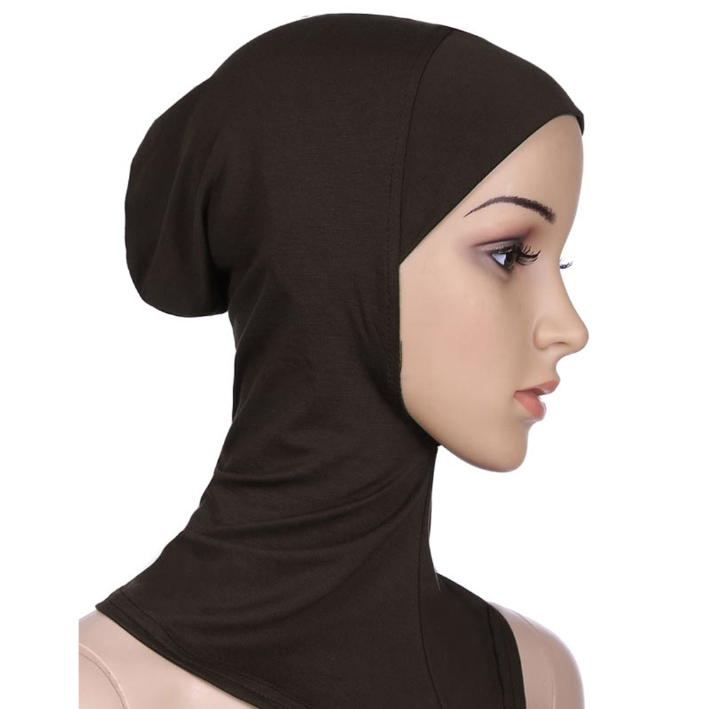 10 Colors Muslim Hijab Full Cover Inner Modal Cap Ninja Hijab Underscarf Women Muslim Hat Bonnet Tubes Islamic Hijab Toca Scarf(China (Mainland))