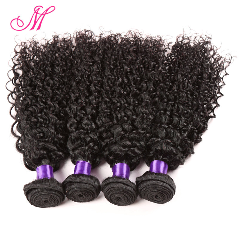 6A Mongolian Afro Kinky Curly Virgin Hair 4 Bundles Unprocessed Virgin Mongolian Kinky Curly Hair HC Afro Curly Weave Human Hair