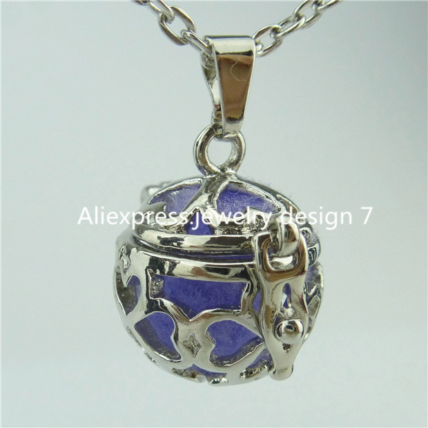 14418 Flower Locket Necklace Fragrance Aromatherapy Perfume Essential Oil Diffuser(China (Mainland))
